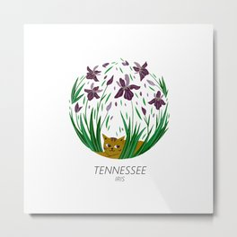 American Cats - Tennessee Metal Print