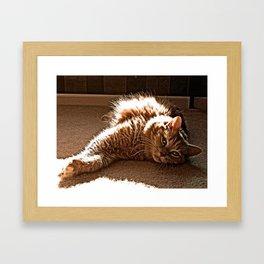 love I Framed Art Print