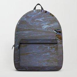 Duck in creek Backpack