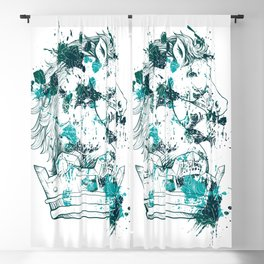 Crown Horse KINGDOM Blackout Curtain