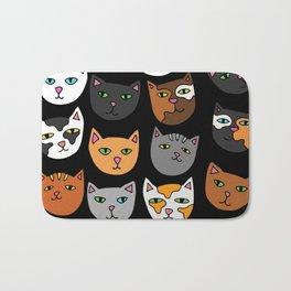 Kitty Cats Everywhere Bath Mat