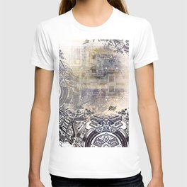 BK QUANTUM ABSTRAKT T-shirt