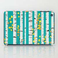 birch iPad Cases featuring Birch wood by Rceeh