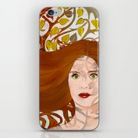 lydia martin iPhone & iPod Skins featuring Lydia Martin: Banshee Queen by reliand
