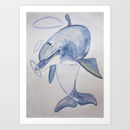 The Sun - Dolphin Art Print