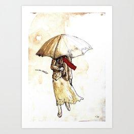 Outono Art Print