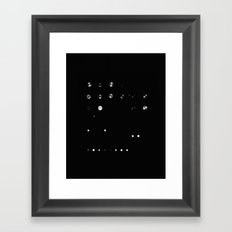 Light it up Framed Art Print