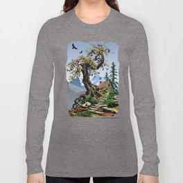 BLUE RIDGE OAK AND KOMA KULSHAN Long Sleeve T-shirt