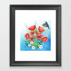 Flowers bouquet #16 Framed Art Print