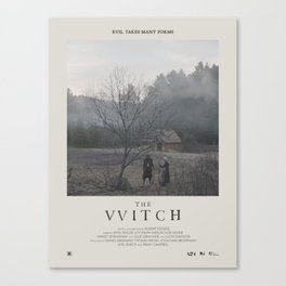 The Witch (2015) Minimalist Poster Canvas Print