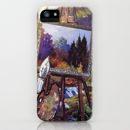 Put Color in Your Life iPhone Case