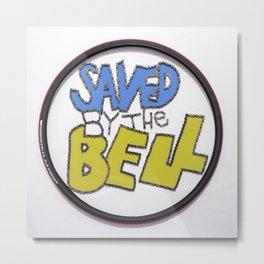 064: Saved by the Bell  - 100 Hoopties Metal Print