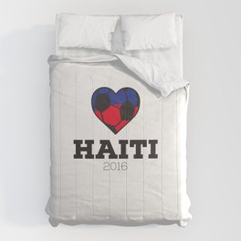 Haiti Soccer Shirt 2016 Comforters
