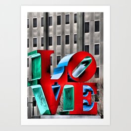 Love from Philly Art Print