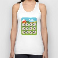 sheep Tank Tops featuring Sheep by Elle Moz