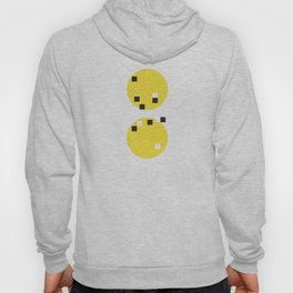 Abstract New York Yellow Taxi Hoody
