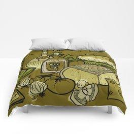 My Mid-Century Kitchen Comforters