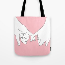 Pinky Promise 2 Tote Bag