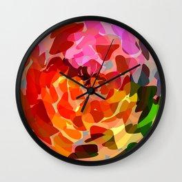 """bloom""  Wall Clock"