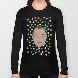 Marcel LeBoeuf et la pluie de noisettes arc-en-ciel Long Sleeve T-shirt