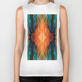 The Great Spirit - Abstract Art By Sharon Cummings Biker Tank