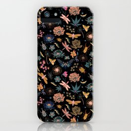 Japanese surface pattern iPhone Case