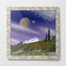 ON THE TRAIL TO DISTANT WORLDS Metal Print