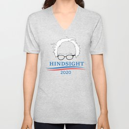 Bernie Sanders Hindsight 2020 Unisex V-Neck