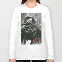 godfather Long Sleeve T-shirts featuring The Godfather by MK-illustration