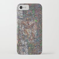 free shipping iPhone & iPod Cases featuring Owl in a Birch Grove by Juliana Kroscen