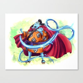 Jinbei - Knight of the Sea Canvas Print