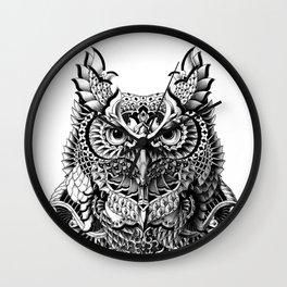 Century Owl Wall Clock