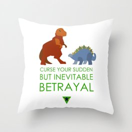 firefly betrayal Throw Pillow