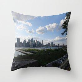 Tourist Stop Throw Pillow