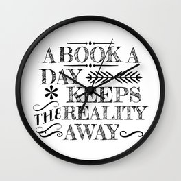 A Book A Day... Wall Clock