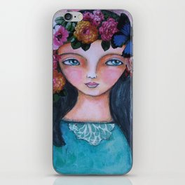 Today I am a flower! iPhone Skin