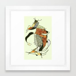 Bull Fight Framed Art Print
