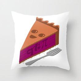 QT Pi Throw Pillow