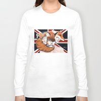 union jack Long Sleeve T-shirts featuring Union by Melpo