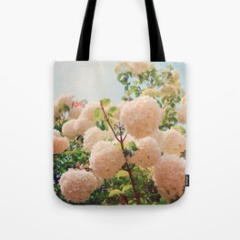 Puffy flowers! Tote Bag