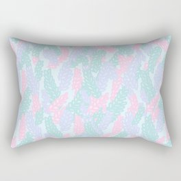 Sea Anemone Pastel Pattern Rectangular Pillow