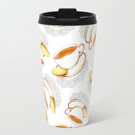 Cup of Tea and a biscuit Travel Mug
