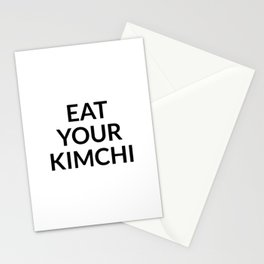 Eat your kimchi Stationery Cards