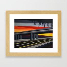 Highwayscape #12 Framed Art Print