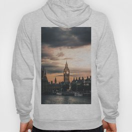 London England Cityscape (Color) Hoody