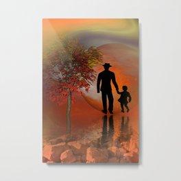 farewell - portrait format Metal Print