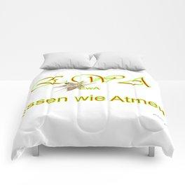 Essen wie Atmen Comforters