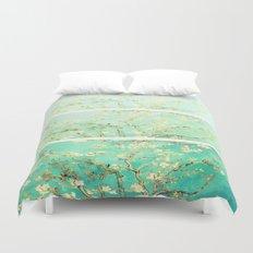 Vincent Van Gogh Almond Blossoms Panel art Duvet Cover