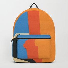 Orange Garbage Bin Backpack