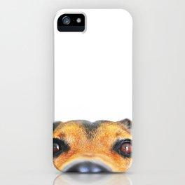 Peeking jack russel iPhone Case